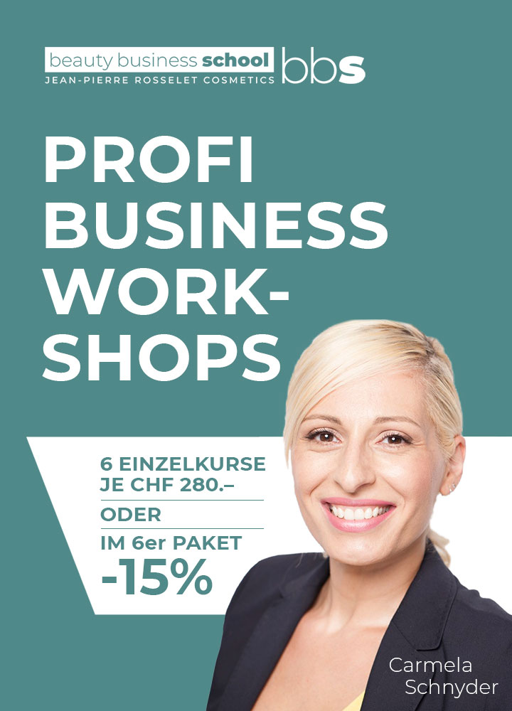 Neu: Profi Business Workshops